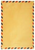 Классический винтажный изолированный конверт стоковая фотография rf