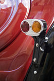 Классический винтажный taillight автомобиля Стоковые Фото
