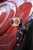 Классический винтажный taillight автомобиля Стоковые Изображения