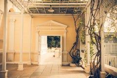 Классический вход здания Стоковое Фото