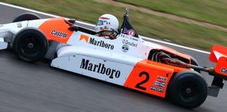 Классический гоночный автомобиль формулы 3 Стоковое фото RF