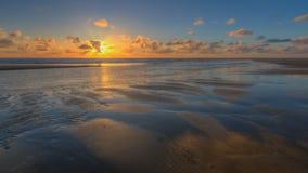 Классический заход солнца Стоковая Фотография
