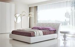 Классический интерьер | Спальня Стоковое фото RF