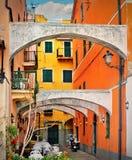 Классический итальянский суд стоковая фотография