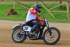 Классический мотоцикл триумфа Стоковые Изображения RF