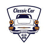 Классический логотип автомобиля бесплатная иллюстрация