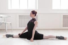 Классический портрет артиста балета Стоковые Изображения