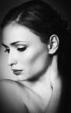 Классический портрет женщины стоковое фото rf
