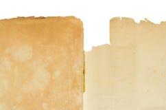 Классический ретро винтажный стиль с старым чистым листом бумаги Стоковое Изображение