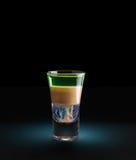 Классический рецепт Хиросима коктеиля Стоковые Фото