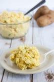 Классический салат картошки стоковое изображение