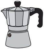 Классический создатель эспрессо бесплатная иллюстрация