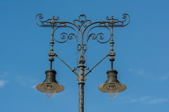 Классический старый уличный фонарь Стоковая Фотография RF