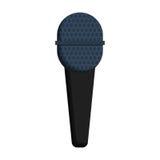 Классический стерео значок micophone бесплатная иллюстрация