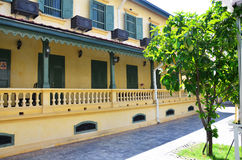 Классический стиль здания на Бангкоке Таиланде стоковые фотографии rf