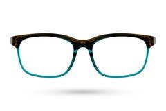 Классический стиль eyeglasses моды изолированный на белой предпосылке Стоковые Изображения RF