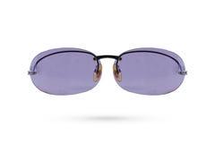 Классический стиль eyeglasses моды на белой предпосылке Стоковые Изображения