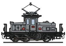 Классический электрический локомотив Стоковое Фото