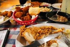 Классический южный обедающий Стоковые Изображения