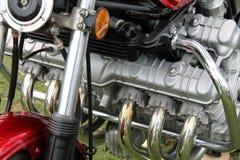 Классический японский двигатель мотоцикла стоковые изображения