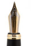 Классический nib авторучки золота Стоковые Фотографии RF