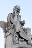 Классический Socrates ratue Стоковая Фотография