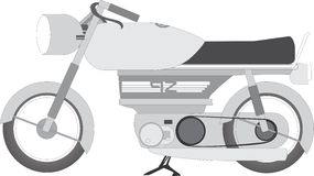 Классический superbike Стоковая Фотография