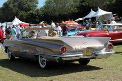 Классическим автомобиль tailfinned американцем стоковое изображение rf