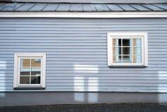 2 классических голубых окна Стоковые Фотографии RF