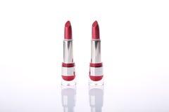 2 классических красных губной помады Стоковые Изображения