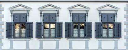4 классических окна Стоковое Изображение RF
