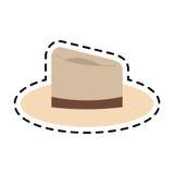 Классическое изображение значка шляпы Стоковые Изображения