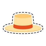 Классическое изображение значка шляпы Стоковая Фотография RF