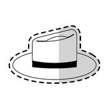 Классическое изображение значка шляпы Стоковое фото RF