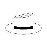 Классическое изображение значка шляпы Стоковые Фото
