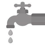 Классическое изображение значка faucet иллюстрация штока