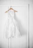 Классическое платье девушки цветка Стоковые Изображения RF