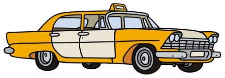 Классическое такси Стоковое Изображение RF
