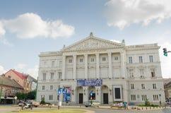 Классическое ` Ioan Slavici ` театра Arad стоковое изображение