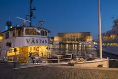 Классическое passengership M/S Vastan Стокгольм Стоковые Фотографии RF