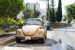 Классическое Volkswagen Beetle Стоковые Изображения