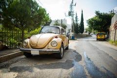Классическое Volkswagen Beetle Стоковое Изображение RF