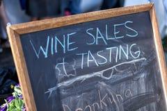 Классн классный знака вина Стоковое Фото
