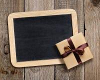 Классн классный и подарочная коробка Стоковые Изображения RF
