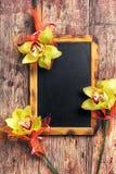 классн классный и цветок Стоковые Изображения RF