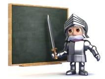 классы рыцаря 3d иллюстрация вектора