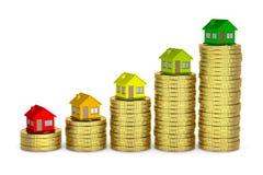 Класс дома напористый, сохраняет деньги бесплатная иллюстрация