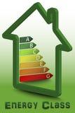 Класс энергии дома Стоковая Фотография RF