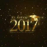 Класс 2017 Стоковое Изображение RF