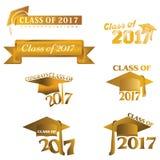 Класс 2017 Стоковое фото RF